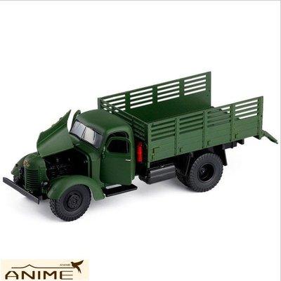 ∞Anime∞1/32解放CA10軍事模型雷鋒運輸卡車全合金聲光擺設模型兒童玩具車