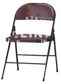 【品特優家具倉儲】P303-12會議椅折合椅折疊椅橋牌椅/咖啡