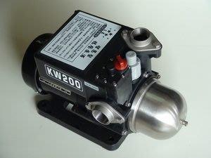 鷹牌KWH200熱水恆壓馬達,1/4馬力加壓泵浦(太陽能熱水器專用)-洗澡不會忽冷忽熱DIY