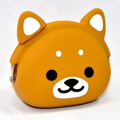 柴犬 矽膠零錢包 日本正版 mimi ...