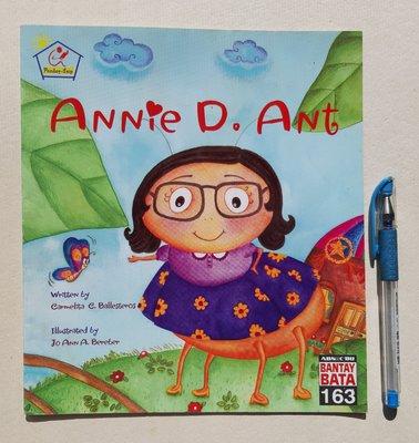 英文童書繪讀本 Annie D. Ant 《Bantay Bata 163 》 書況優 無書寫