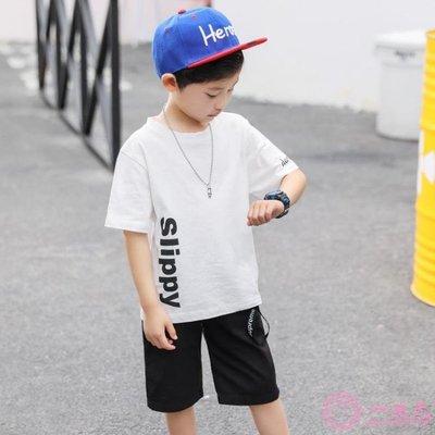 【Miosio】 男童短袖t恤夏裝中大童新款男短袖棉質韓版兒童體恤衫半袖潮MN-297345