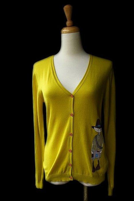 *Beauty*LITTLE MARC JACOBS 芥末黃色長袖針織衫 售1990元  12號
