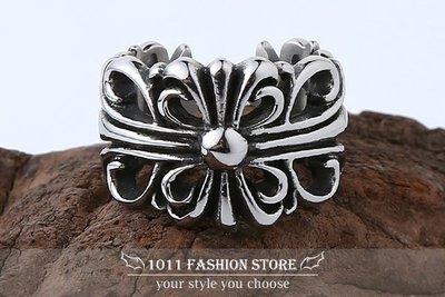 龐克 搖滾 男性 女性 西德鋼 / 鈦鋼 十字架 時尚 戒指 鋼戒 情人對戒 可調式 jz997 媲美 克羅心
