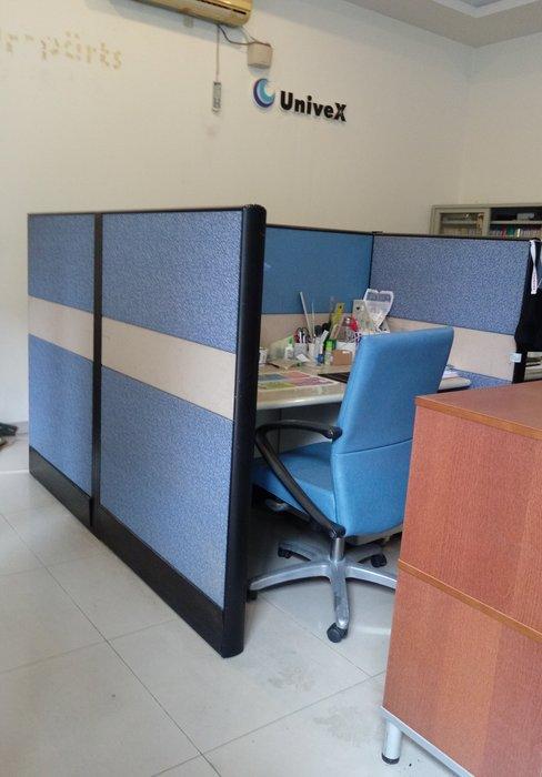 公司搬遷 超低價出清 辦公室OA屏風 8成新