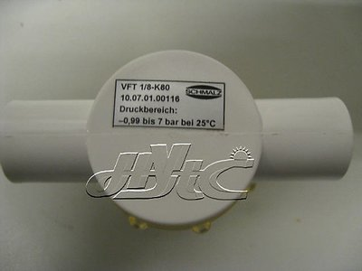 Schmalz真空過濾器VFT G1/8-IG 80.0