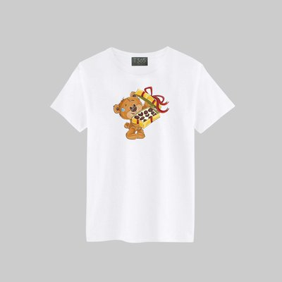 T365 可愛 熊熊 萌 布偶 禮物 巧克力 T恤 男女皆可穿 多色同款可選 短T 素T 素踢 TEE 短袖 上衣 棉T