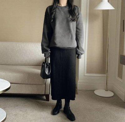轉賣 c. style 韓坑條紋織修身裙-黑色(doboki korea.BFF80s.korea123.chuchu. colashop.chan w)