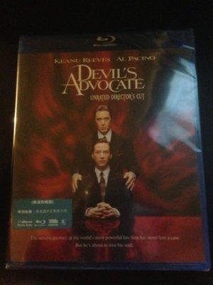 (全新未拆封)魔鬼代言人 The Devil`s Advocate 藍光BD(得利公司貨)限量特價