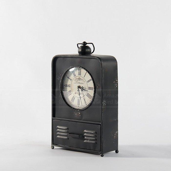 【酷鳥窩】LOFT 工業風 鐵製 仿古 擺飾鐘