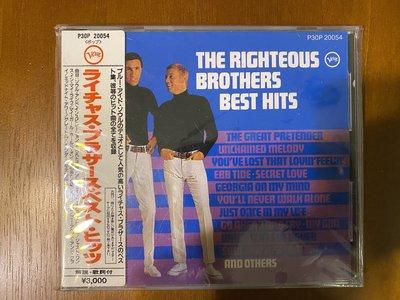 正義兄弟 Best Hits 日本版 The Righteous Brothers 貼紙側標