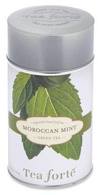 美國TEA FORTE Moroccan mint loose leaf green tea 120g(預購)