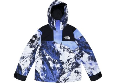 Supreme The North Face Mountain Parka藍白黑雪山機能風衣衝鋒衣外套夾克防寒北臉TNF