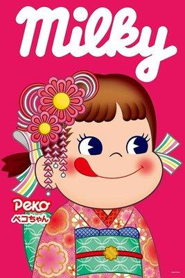 日本正版拼圖 不二家 PEKO 牛奶妹 和服 1000片拼圖,1000-060