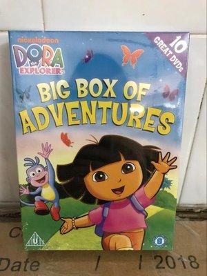 【優品音像】 愛探險的朵拉英文原版高清DVD正版愛冒險朵拉DORA兒童英語動畫片 精美盒裝