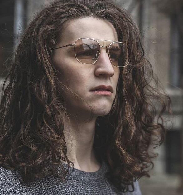 Paul Hueman 韓國熱銷品牌 金色金屬雙槓透明茶色鏡片太陽眼鏡 復古創新設計 江林使者河正宇御用款 PHS906A 906