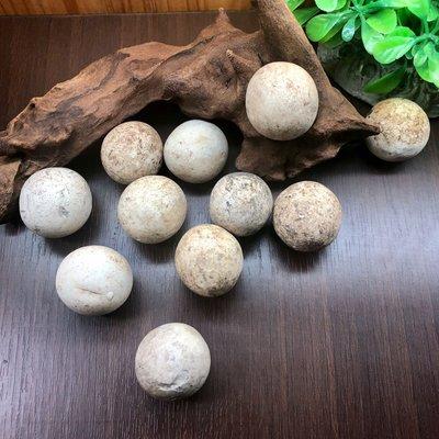 [馬克與安]鵪鶉蛋-新疆蛋白石原石/11顆約直徑約25mm圓球/一組價