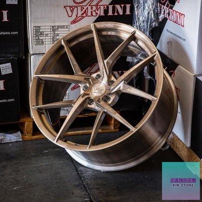 超鑫鋁圈 VERTINI VS19 18吋鍛造鋁圈 5孔112 5孔114 5孔120 5孔108 5孔100 古銅髮絲