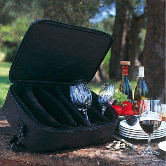 Riedel 玻璃酒杯 旅行保護袋 專用酒杯背包 紅酒杯袋 紅酒提袋 酒杯專用收納袋