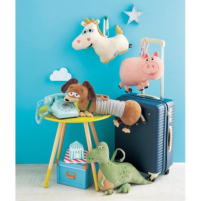 迪士尼Disney《預購》玩具總動員可變形抱枕 U型枕 頸枕~火腿豬 暴暴龍 獨角獸 彈簧狗~日本正品~共4款~心心小舖