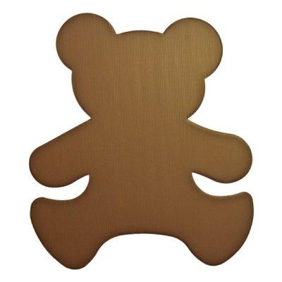(不可超取)C130-1-B- 大造型PP瓦楞板-B(大熊)可當拍照小道具、趣味造型裝飾、派對活動佈置(請進入選擇顏色)
