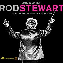 ROD STEWART You're In My Heart Royal Philharmonic Orchestra 2LP 黑膠唱片 2019 (包郵)
