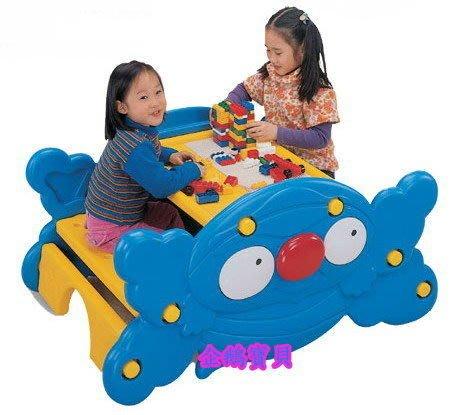 @企鵝寶貝二館@ 螃蟹造型兩用桌椅、搖搖椅、積木遊戲桌- 請先詢問是否有貨???