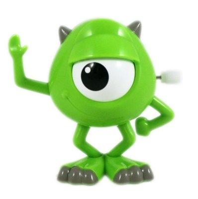 【卡漫迷】 大眼仔 發條 可動 公仔 ㊣版 Mike 玩具 擺飾裝飾 收藏 怪獸大學 Monsters inc 辦公桌