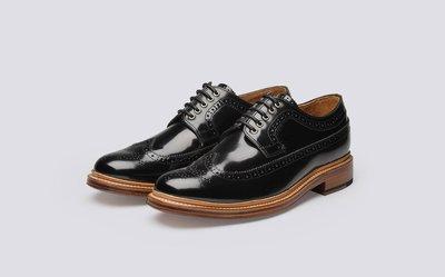 ~The Black Dan Moccani~ [潮流] Grenson Sid 英國手工 雕花牛津鞋/紳士皮鞋