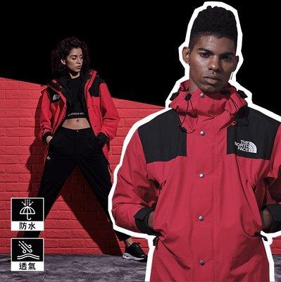 =CodE= THE NORTH FACE 1990 MOUNTAIN GTX JACKET 防水連帽外套(紅) 衝鋒衣
