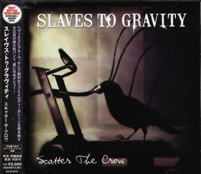 K - SLAVES TO GRAVITY - Scatter The Crow - 日版 +2BONUS