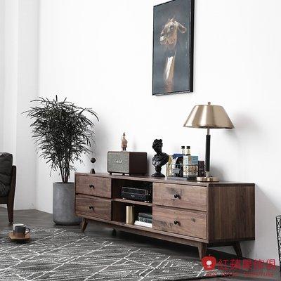 [紅蘋果傢俱]HM017 電視櫃 地櫃 視聽櫃 北歐風電視櫃 日式電視櫃 實木電視櫃 無印風 簡約風