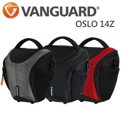 【中壢NOVA-水世界】Vanguard 精嘉 即影者 OSLO 14Z 側背包 斜肩包 單眼相機包 附防雨罩 公司貨