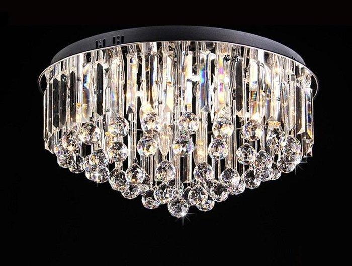 中型65CM大方水晶吸頂燈~E14型含LED燈泡+夜燈僅4280元自行diy價S3055C-65