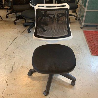 【全國2手家具館】*庫存出清下殺*時尚造型白框辦公椅(高密度泡棉)/OA椅/二手電腦椅/主管椅/會議椅/存貨多張