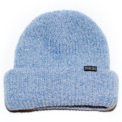 OVERLORD SKATEBAORDS BASIC BEANIE 短 毛帽  『水藍』