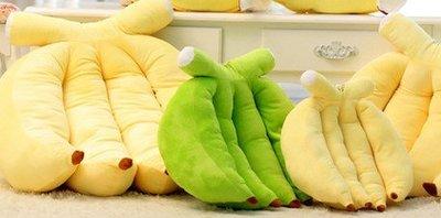 ☆汪汪鼠☆ 【35公分】仿真香蕉靠墊 抱枕 玩偶 絨毛娃娃 居家ZAKKA雜貨 聖誕節交換禮物 餐廳布置裝潢