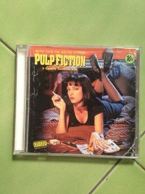 (下標即結標)Pulp Fiction昆丁塔倫提諾黑色追緝令電影原聲帶(英國版,Quentin Tarantino)