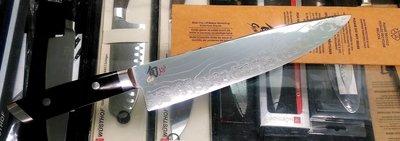 J福利品/二手- 日本旬Shun KAJI 大馬士革紋 10吋主廚刀 SG-2粉末鋼 高硬度折疊鋼龍紋刀