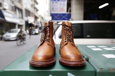 Neiborhood x Grenson TRIPLE WEIT 三段延條 高筒 雕花 皮鞋 聯名款 全新 30%OFF