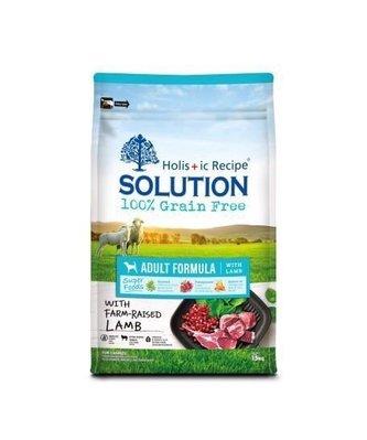 【萬倍富】耐吉斯-Solution 全新超級無穀 成犬羊肉(小顆粒)/成犬雞肉15KG