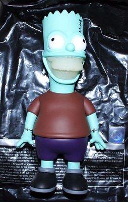 全新 Ron English x Made by Monsters x JPS 夜光版 辛普森 霸子 Bart Grin