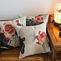 靠枕 抱枕 沙發靠枕 新中式 中國風 亞麻風格...