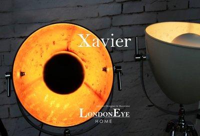 【LondonEYE】Xavier Vintage Lamp 三腳架影棚檯燈工業風/LOFTX烤漆金箔鐵件《126》