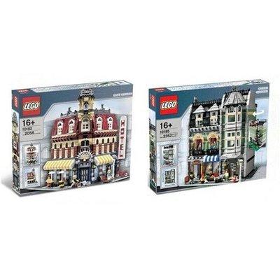 正版 樂高 LEGO 10185 10182 CITY街景 系列 轉角咖啡館