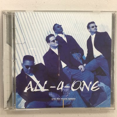 All-4-One (合而為一合唱團) / And the Music Speaks,極新二手CD