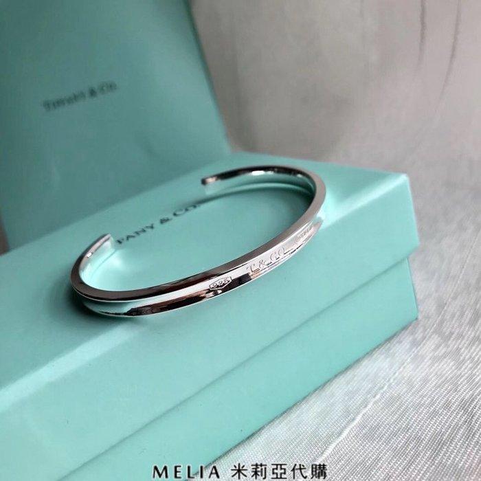 Melia 米莉亞代購 Tiffany&Co. 925純銀 2018Sss Tiffany 蒂芙尼 手鐲 1837系列
