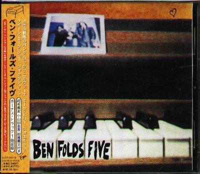 K - Ben Folds Five - Ben Folds Five - 日版+1BONUS+OBI