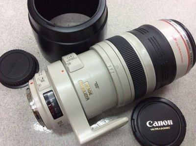 [保固一年] [高雄明豐]  CANON EF 100-400mm F4.5-5.6 L IS 便宜賣 70-200