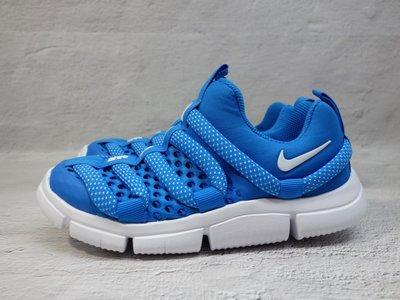[麥修斯] NIKE NOVICE BR PS 兒童 毛毛蟲鞋 藍 運動鞋 柔軟 中童款  BQ6720-400